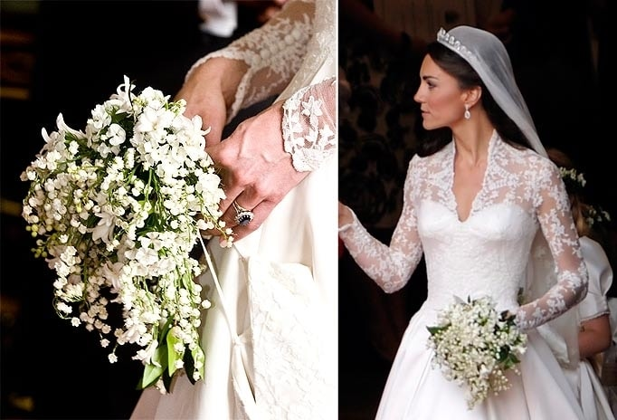 Bouquet Da Sposa Di Kate.A Little Ride Through The Most Beautiful Wedding Bouquets Of All