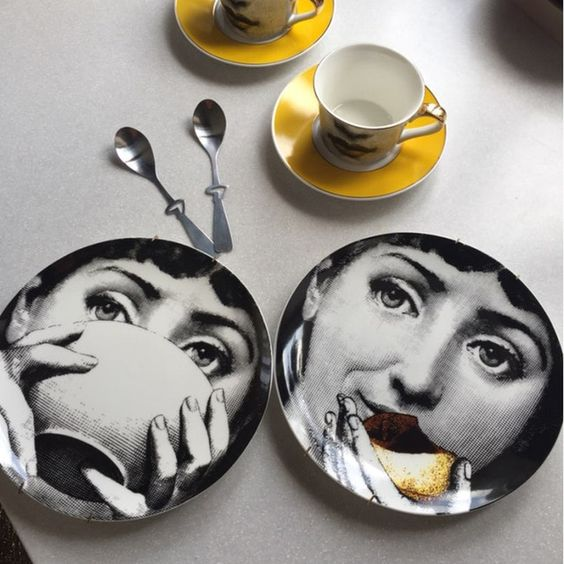 fornasetti plate - Google Search