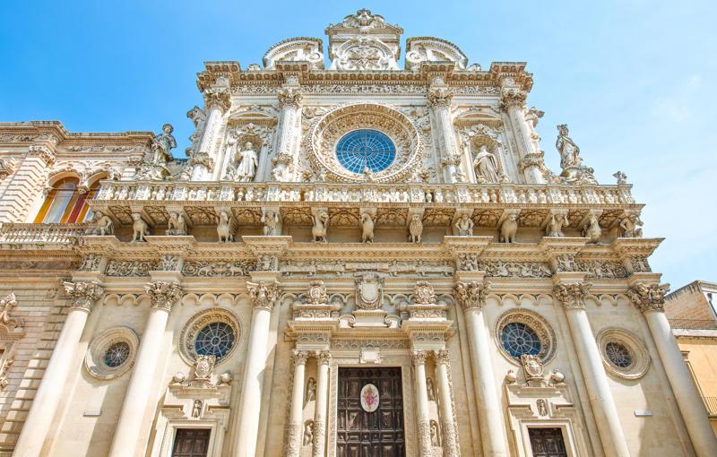 Il trionfo del barocco leccese: la maestosa Basilica di Santa ...