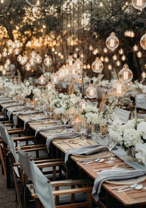 45 Ways To Dress Up Your Wedding Reception Tables 1 - Fab Mood | Wedding Colours, Wedding Themes, Wedding colour palettes