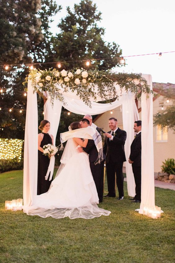 Beautiful Chuppahs from Jewish Weddings ...