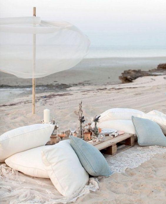 Picnic d'estate, colazioni sull'erba, scofanate in spiaggia | Vita su Marte