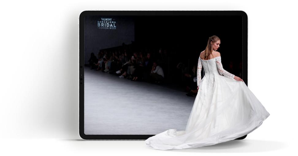 Digital Experience | Valmont Barcelona Bridal Fashion Week