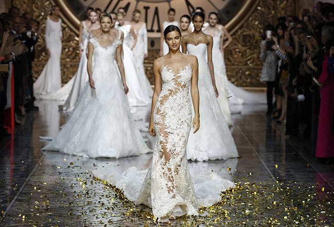 Favorite Wedding Dresses from Barcelona Bridal Week | Green Wedding Shoes